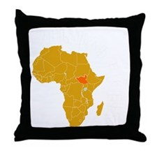 south sudan1 Throw Pillow