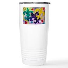 Mardi Gras Fleur de lis Travel Mug