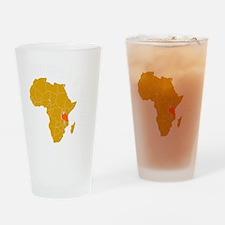 tanzania1 Drinking Glass