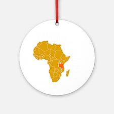 tanzania1 Round Ornament