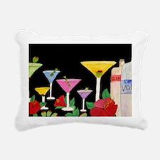 Martini Bar Rectangular Canvas Pillow