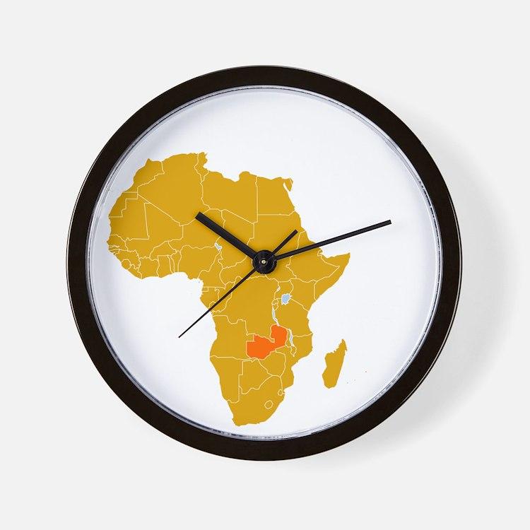 zambia1 Wall Clock