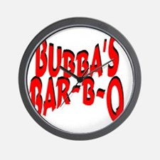 Bubbas Bar B Q Wall Clock