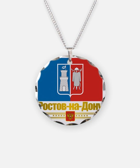 Rostov-on-Don Flag Necklace