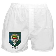 Douglas Clan Crest Tartan Boxer Shorts