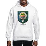 Douglas Clan Crest Tartan Hooded Sweatshirt