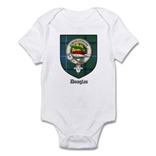 Douglas Clan Crest Tartan Infant Bodysuit