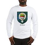 Douglas Clan Crest Tartan Long Sleeve T-Shirt
