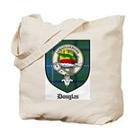 Douglas Clan Crest Tartan Tote Bag