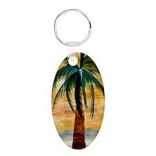 Golden Palm Keychains
