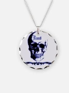 Skull Run8 Necklace