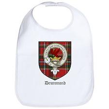 Drummond Clan Crest Tartan Bib