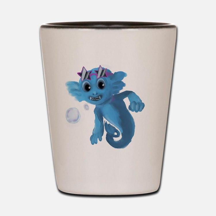 Sea Monkey Shot Glass