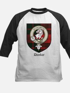 Dunbar Clan Crest Tartna Tee