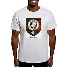 Dunbar Clan Crest Tartna T-Shirt