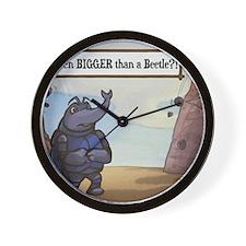 Bigger Than Beetle Wall Clock