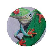 "Coqui Frog 3.5"" Button"