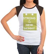 Strong is the New Skinn Women's Cap Sleeve T-Shirt