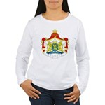 Netherlands Coat of Arms Women's Long Sleeve T-Shi