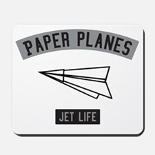PAPER PLANES Mousepad