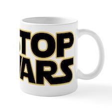 stop wars10black Mug