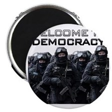 Welcome To Democracy Magnet