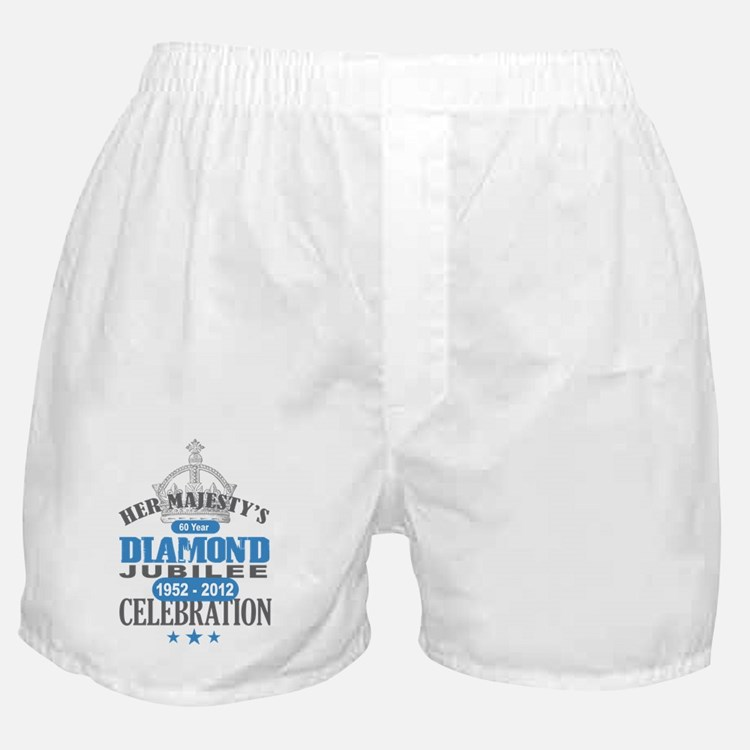 Queen Elizabeth Diamond Jubilee Boxer Shorts