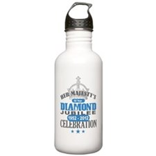Queen Elizabeth Diamon Water Bottle