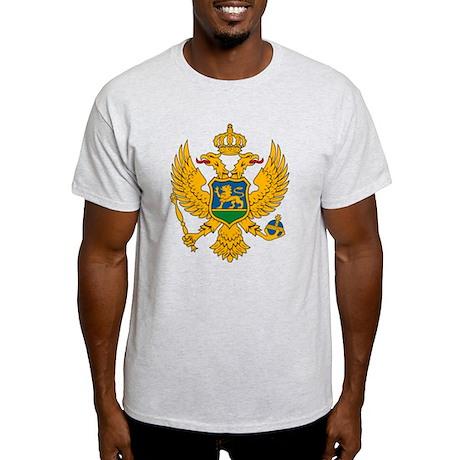 Montenegro Coat of Arms Light T-Shirt