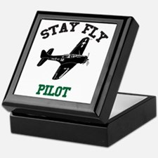 STAY FLY PILOT Keepsake Box