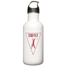 STAY FLY GOLF [RED] Water Bottle