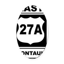 East 27A Montauk Oval Car Magnet