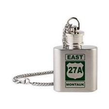 East 27A Montauk Green Flask Necklace