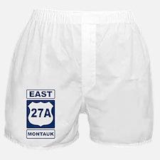 East 27A Montauk Blue Boxer Shorts