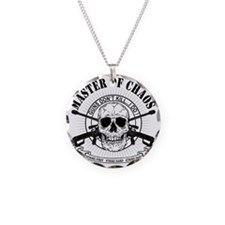 MAster of Chaos Necklace Circle Charm