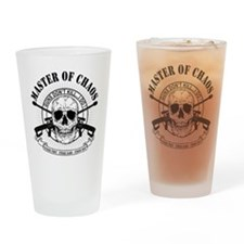 MAster of Chaos Drinking Glass