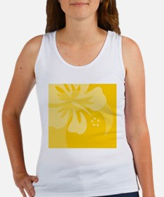 Hibiscus Yellow Beer Label Women's Tank Top