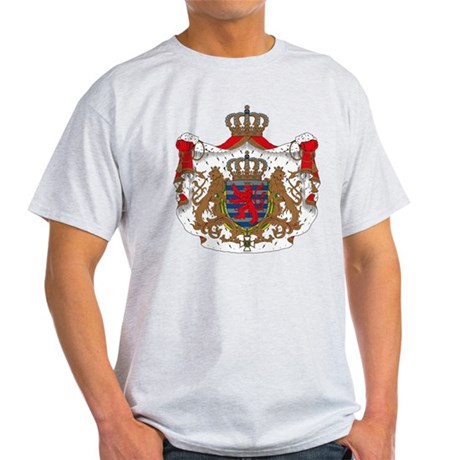 Luxembourg Coat of Arms Light T-Shirt