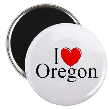 """""""I Love Oregon"""" Magnet"""