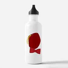 Klint Fez  Bowtie logo Water Bottle