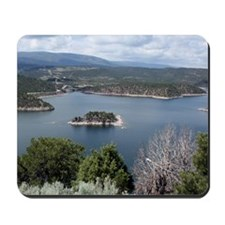 Flaming Gorge by the Dam Mousepad