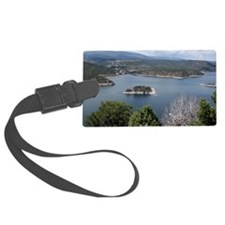 Flaming Gorge by the Dam Luggage Tag