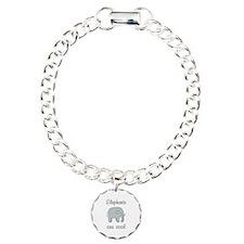 Elephants are Cool Bracelet