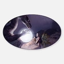 I believe in Magic (v1a) Sticker (Oval)