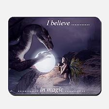 I believe in Magic (v1a) Mousepad
