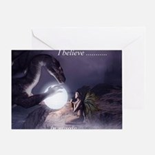I believe in Magic (v1a) Greeting Card