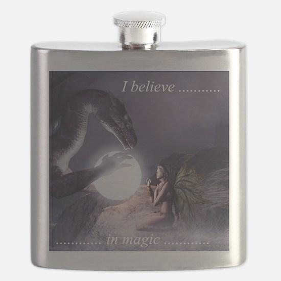 I believe in Magic (v1a) Flask