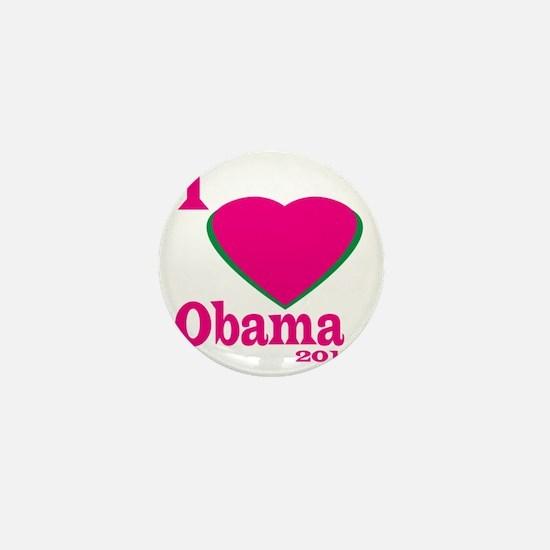 I Love obama Mini Button
