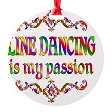 Line Dancing Ornament