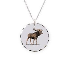 Canadian Moose Necklace